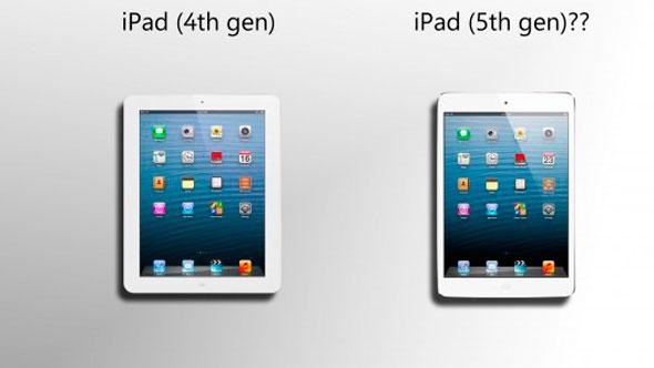 iPad 5 en desarrollo