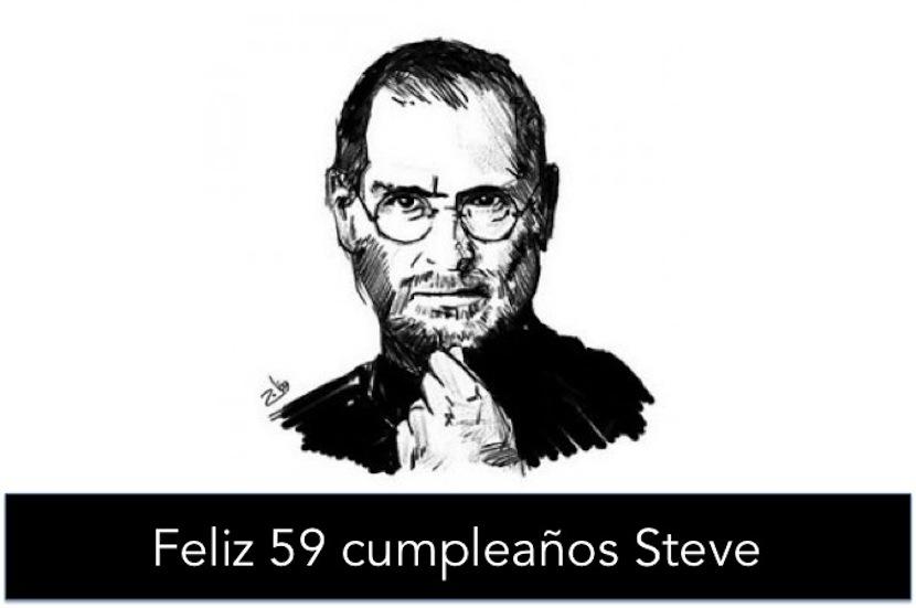 59 CUMPLEAÑOS STEVE Tim Cook recuerda a Steve Jobs hoy, el que hubiera sido su 59 cumpleaños
