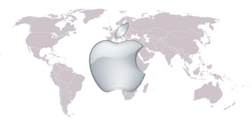 Mapa interactivo apple store 0 Un mapa animado muestra las aperturas de las Apple Store desde 2001