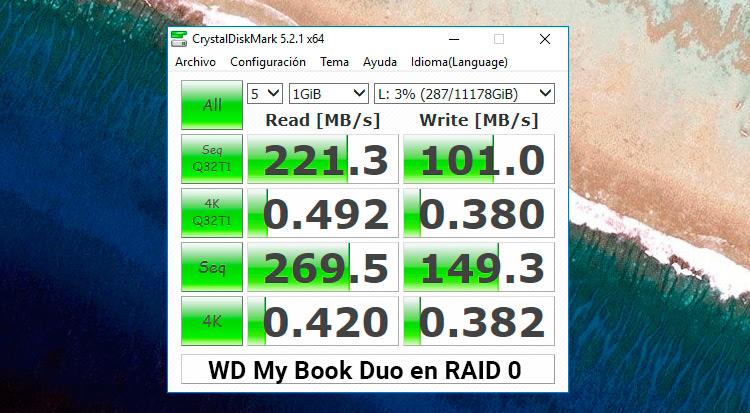 velocidad-wd-my-book-duo-en-RAID-0