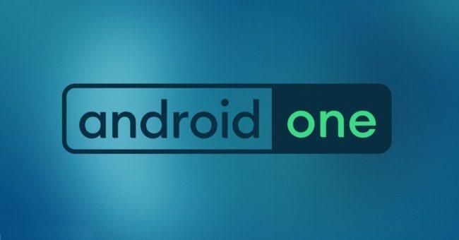 logo de android one fondo turquesa