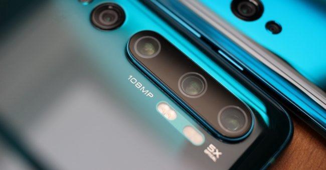 Xiaomi Mi Note 10 Pro detalle cámaras