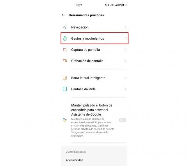 Realme apps pantalla apagada