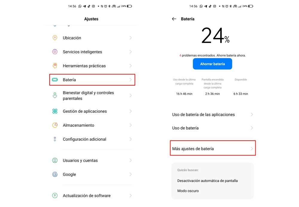 Batería Realme UI 2.0